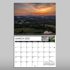 2021 Calendar 8.5x11 Sample Month