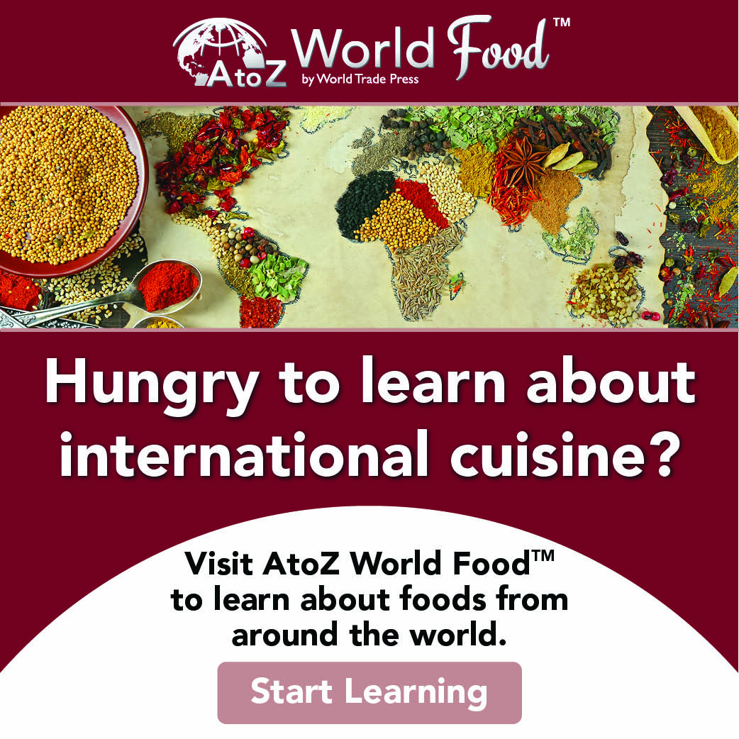 Hungry to learn about international cuisine?
