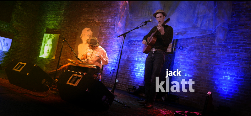 Jack Klatt performs at the Icon Lounge for a special Live on Location filming of The White Wall Sessions