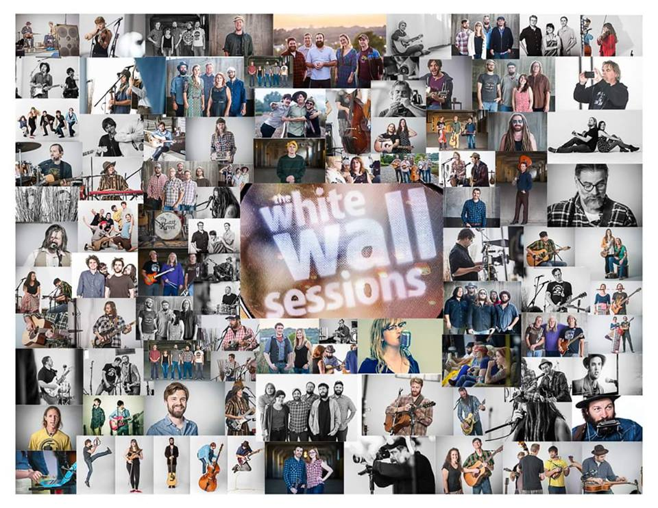 A collage of white wall sessions artists from season 1 and season 2