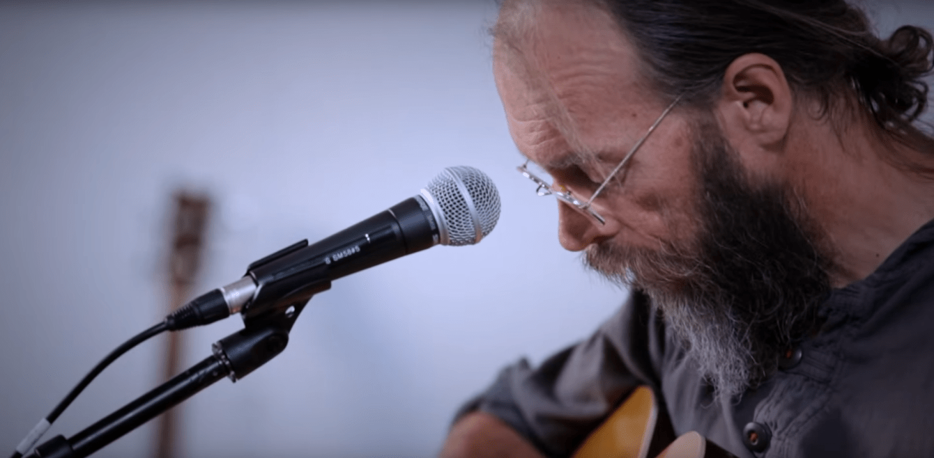 Charlie Parr performs at The White Wall Sessions
