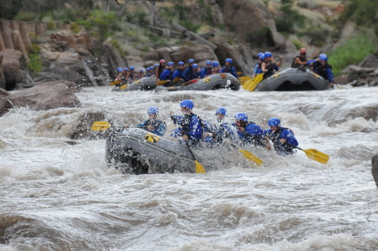 River rafting in Colorado