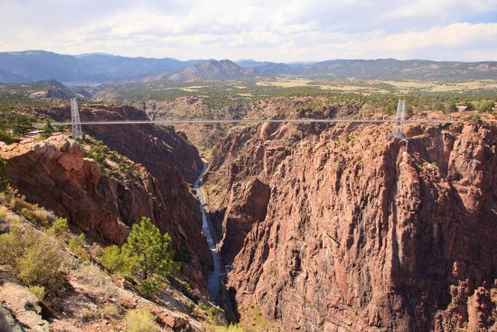 The Royal Gorge of the Arkansas River