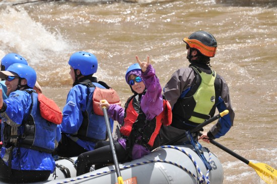 Colorado whitewater rafting trips.