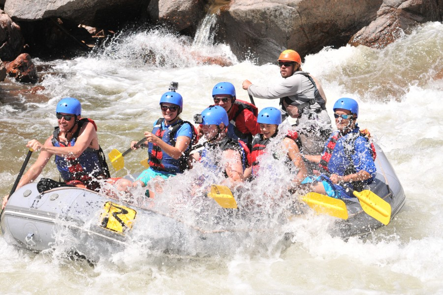 Colorado whitewater rafting trips