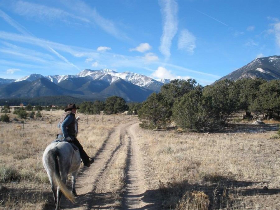 Royal Gorge by horseback.