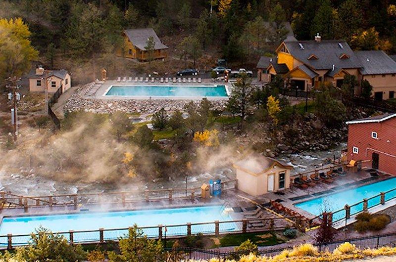 Hot Springs in Colorado.