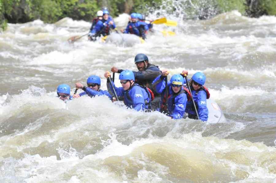 Raft the Arkansas River.