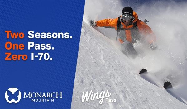 Ski Monarch Mountain.