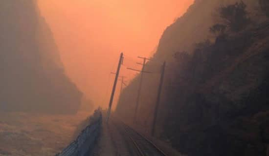 Royal Gorge Fire.