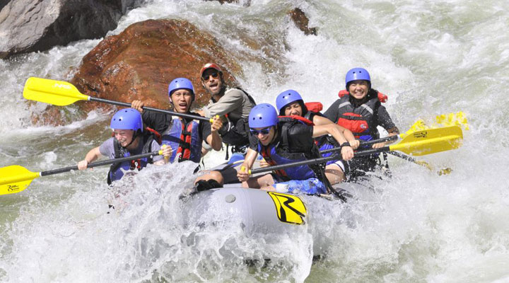 Raft and Off Road Tours at the Royal Gorge.