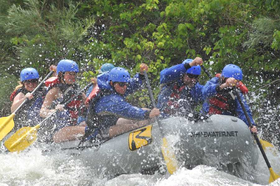 River Runners Early Bird Whitewater Rafting Sale.