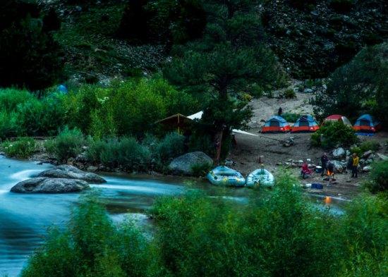 Overnight Rafting Trips.