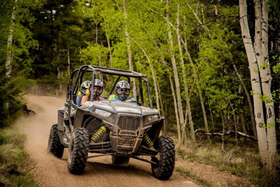 Off-Road Tours and Rental in Buena Vista, Colorado.