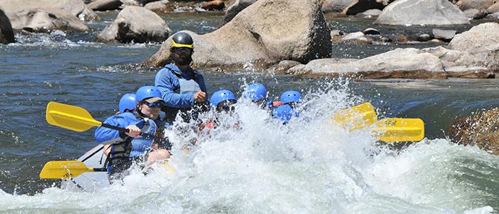 Happy Hour Raft Trip in Buena Vista, Colorado.