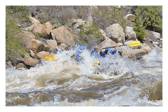 Arkansas River rafting.