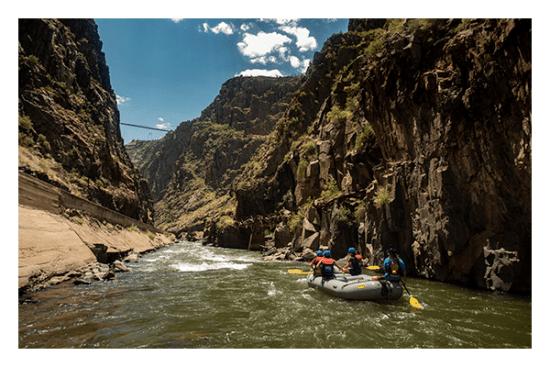 Royal Gorge Rafting.