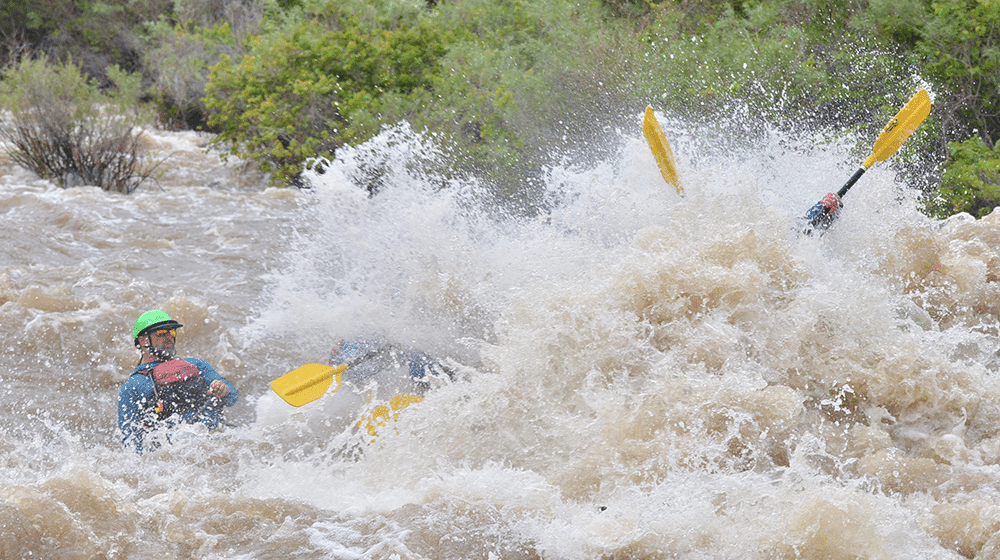 High Water on the Arkansas River.