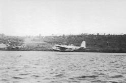 AEUB Camilla airborne at Lindi