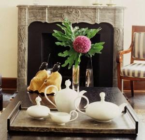 chic tea set