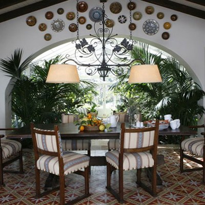 Rooms inspired by Sunny Spain