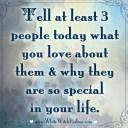 3 people