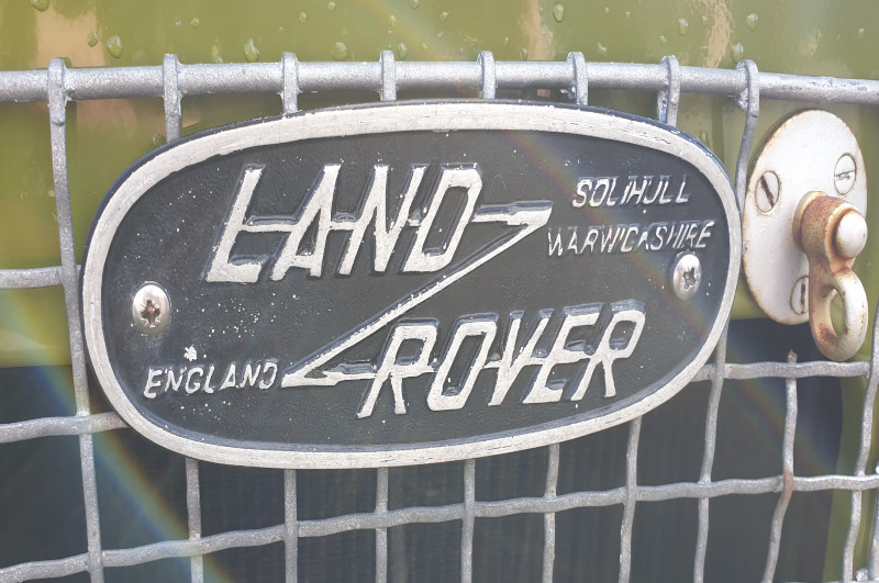 Mrk2 Land Rover Badge