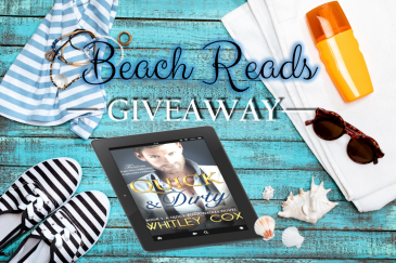 Beach reads giveaway Whitley Cox book