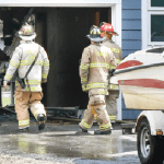Fire damages Hanson home