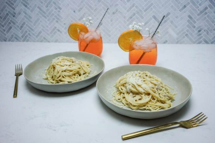 Perfect Pairings: Summer Spritz & Cacio e Pepe Recipe