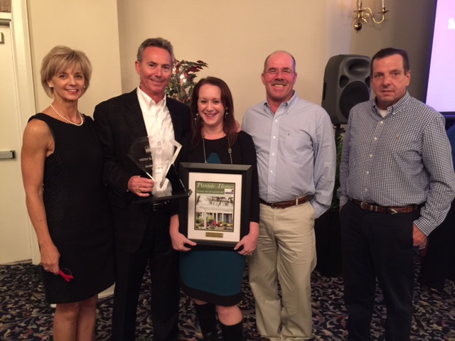 Diamond Award Winner at the 2015 Brunswick County HBA Parade of Homes Banquet!
