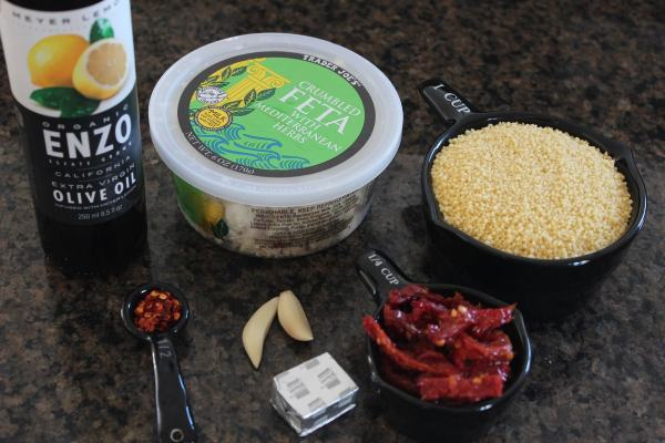 Mediterranean Couscous Ingredients