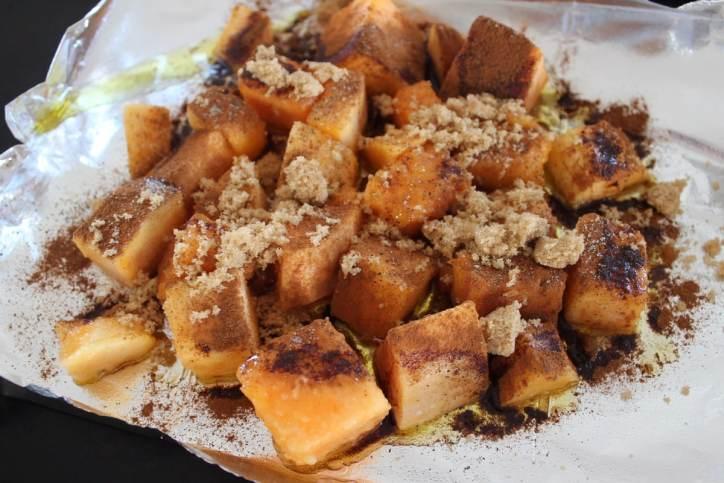 Brown Sugar Cinnamon Butternut Squash