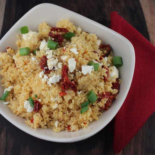 Sun Dried Tomato and Feta Couscous