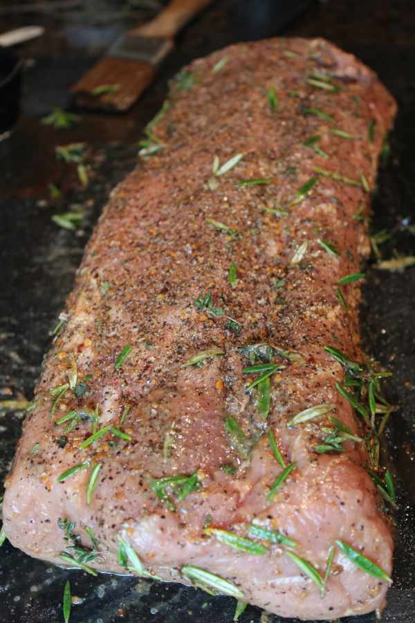 Herb Crusted Pork Loin Recipe