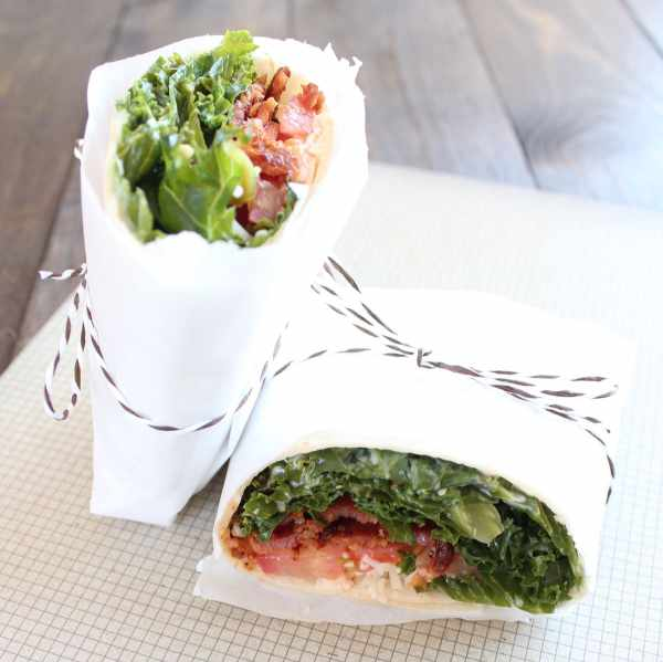 BLT Caesar Wrap Recipe