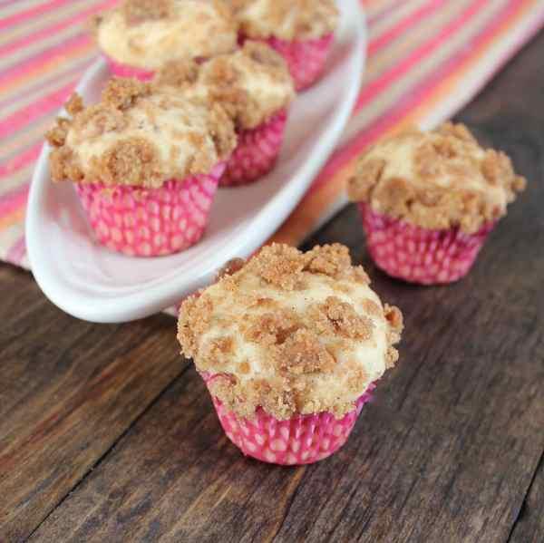 Mini Bacon Maple Brown Sugar Muffins