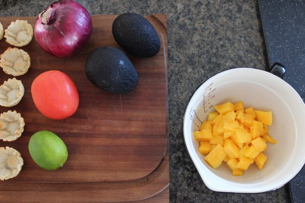 Mango Avocado Fillo Basket Recipe
