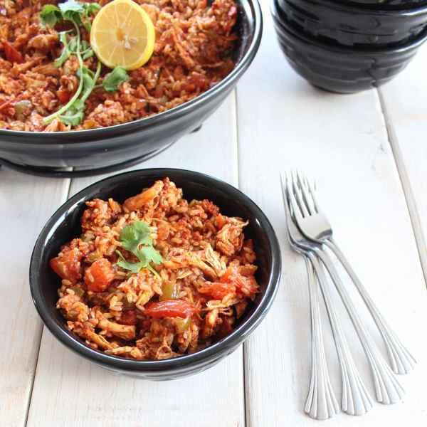 Spanish Chicken and Chorizo Paella