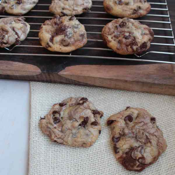 Nutella Chocolate Chip Cookie Recipe