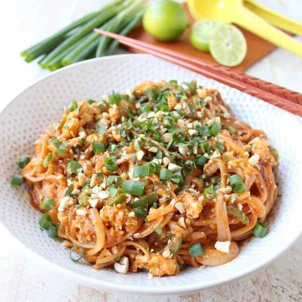 Pad Thai Recipe Vegetarian Gluten Free Whitneybond Com