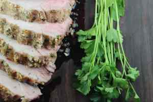 Italian Crusted Pork Loin