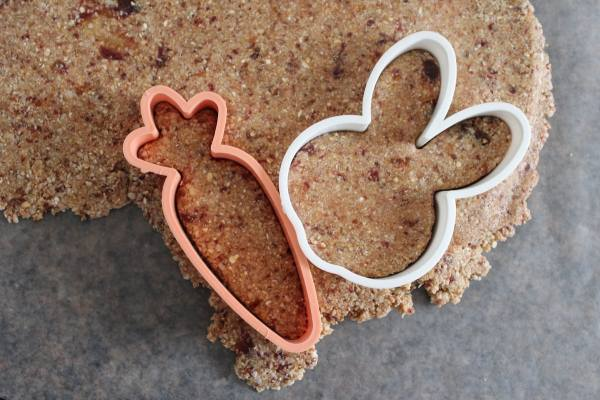 Easter Shaped Oatmeal Coconut Bars