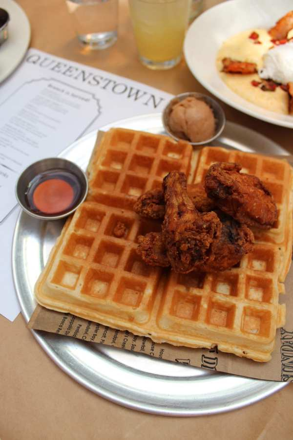 Queenstown San Diego Chicken and Waffles