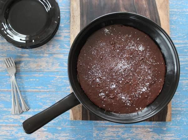 Chocolate Skillet Brownie