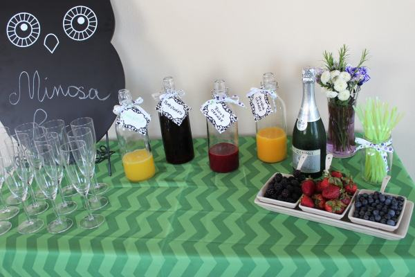 Mimosa Bar for Parties