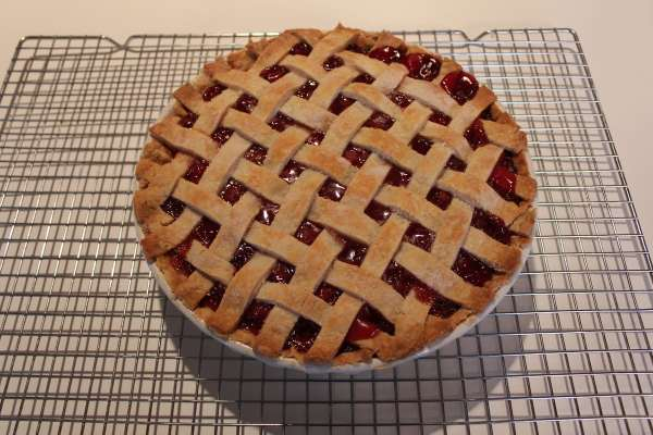 Cherry Pie with Lattice Crust