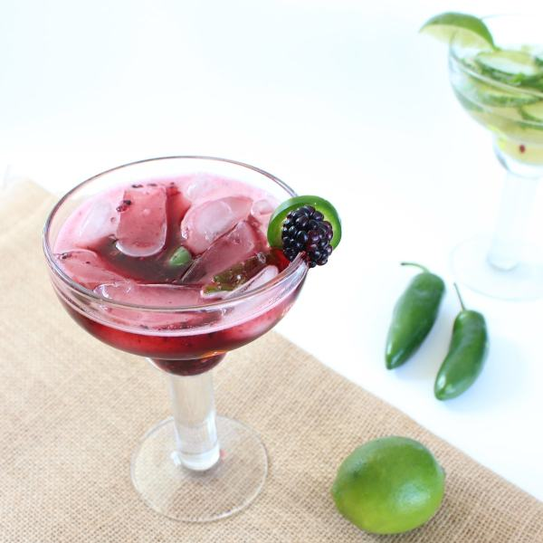 Blackberry Jalapeño Margarita