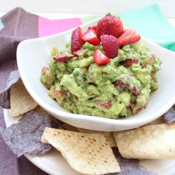 Strawberry Guacamole Recipe