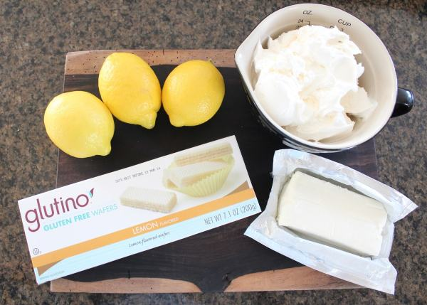 Gluten Free Lemon Dessert Cup Ingredients